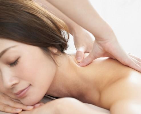 Rug- nek- en schoudermassage
